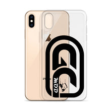 Load image into Gallery viewer, Golf Carts Modified GCMod logo iPhone Case