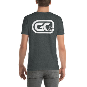 Golf Carts Modified GCMod White logo Gildan 64000 shirt