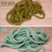 Macramé Spiral Knot Leash (No Fringe)