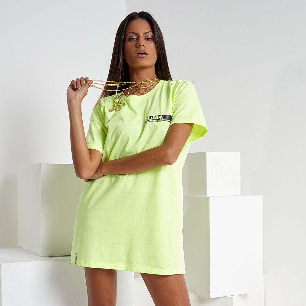 NEON LIGHTS T-DRESS