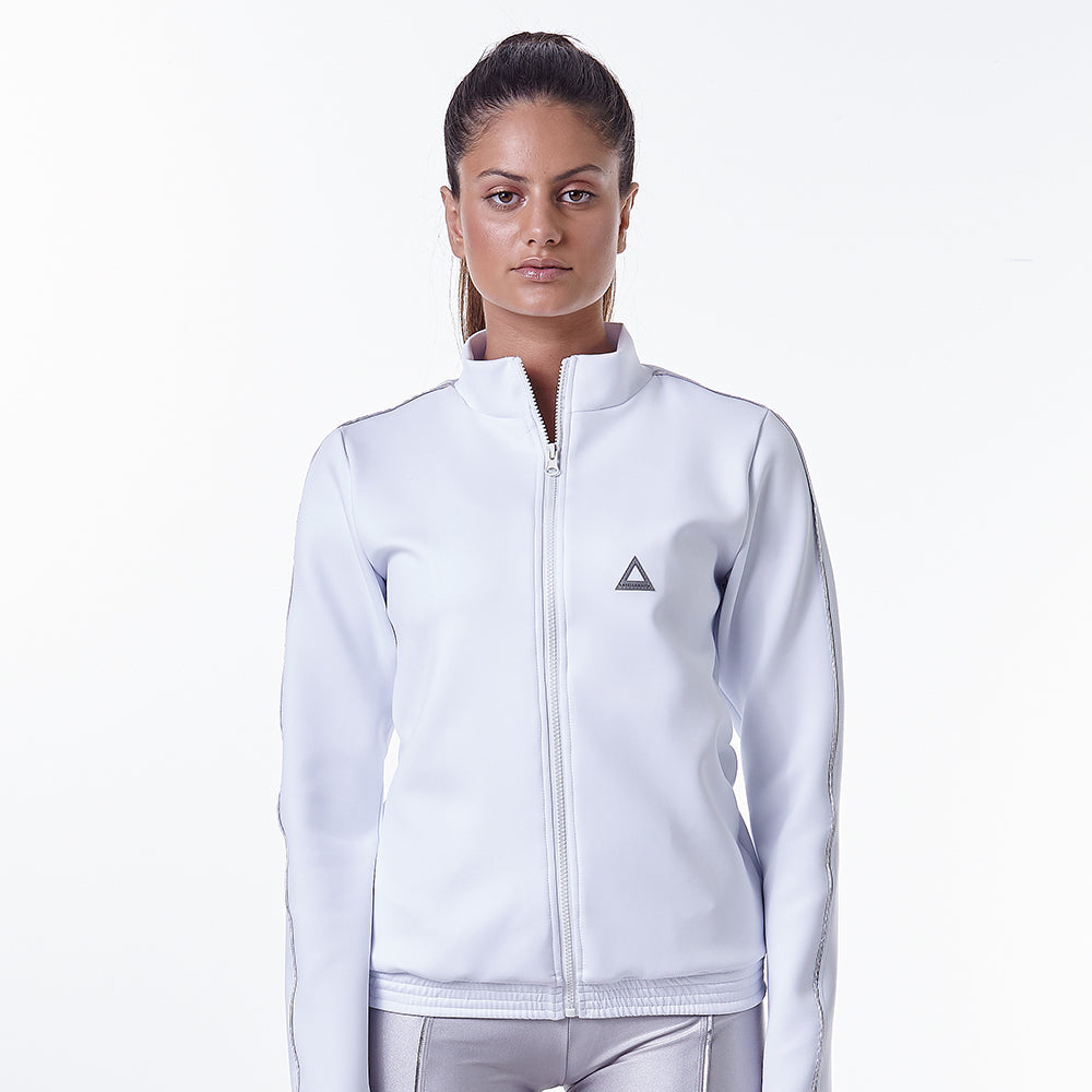 Metallic Athleisure Moments Jacket