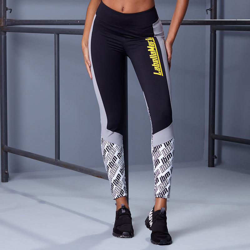 BLOCK LETTER LEGGING