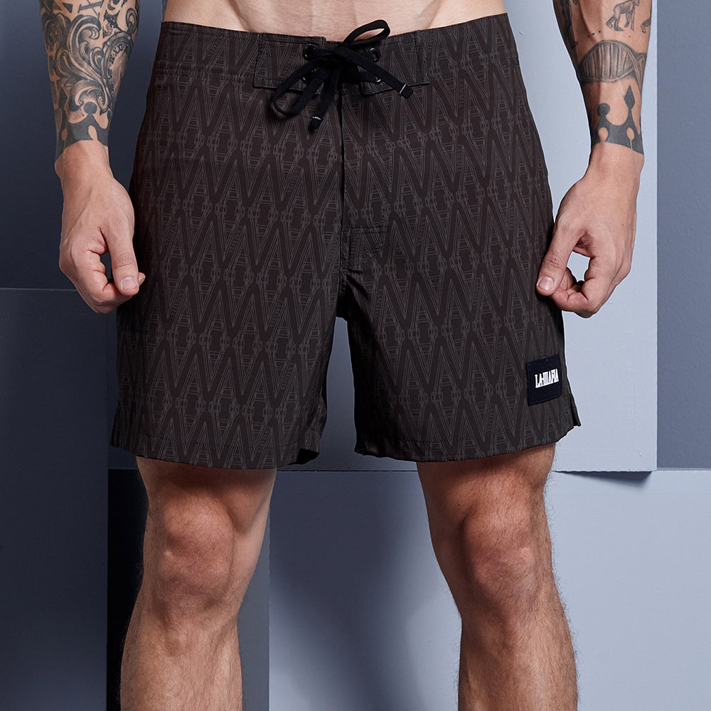 PRINTED STRUCTURE SHORTS