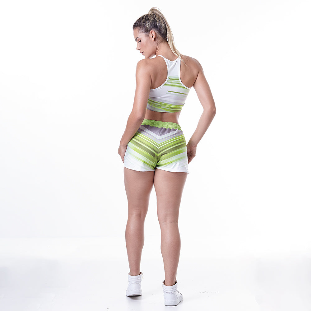 PRINTED SETS GRASS FITNESS SETS