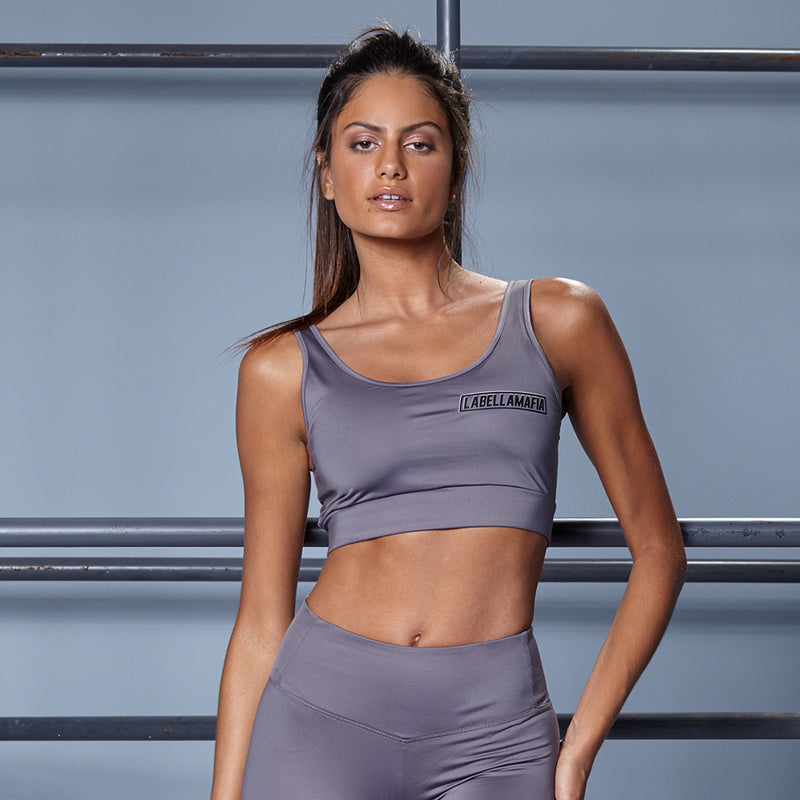 SPORTS GRAY FITNESS SET