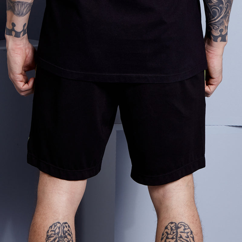 STRUCTURE BLACK SHORTS