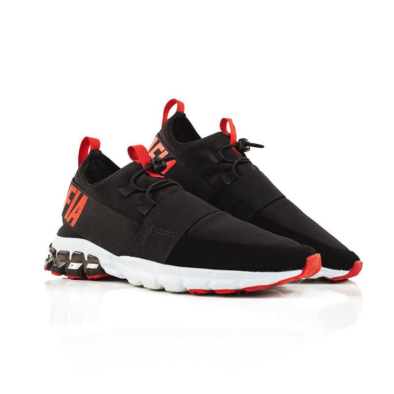 SNEAKERS SATURN LA MAFIA BLACK/RED