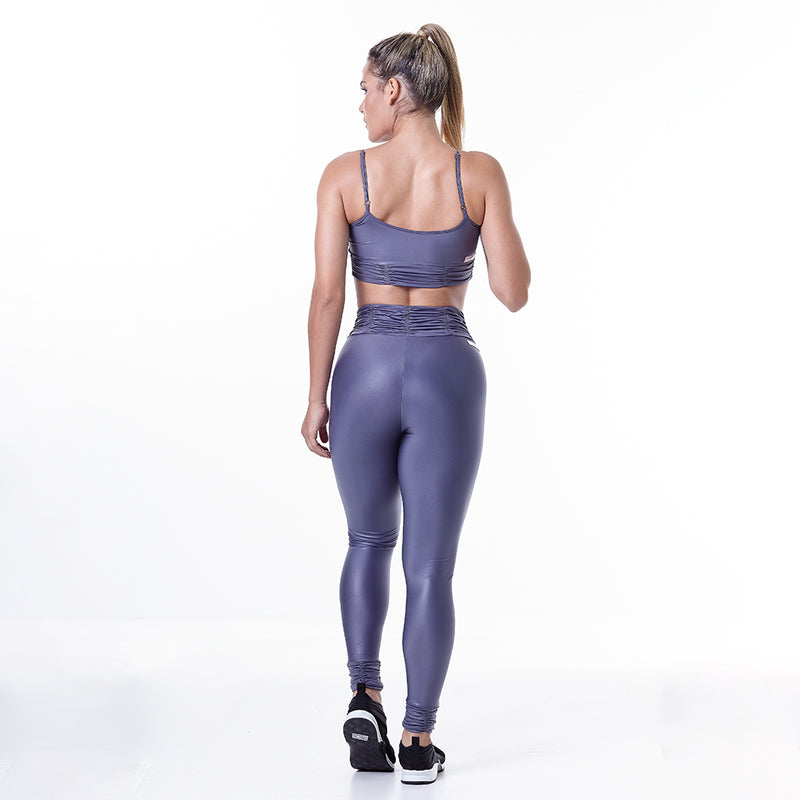 METALLIC FITNESS SET