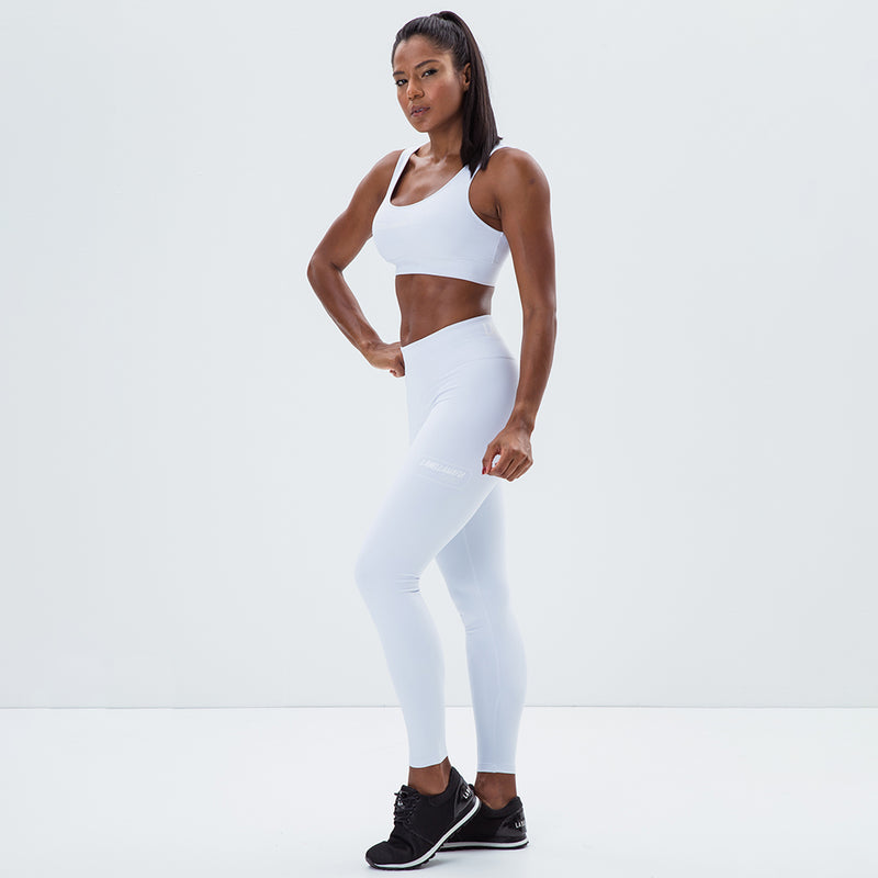 ALL WHITE FITNESS SET