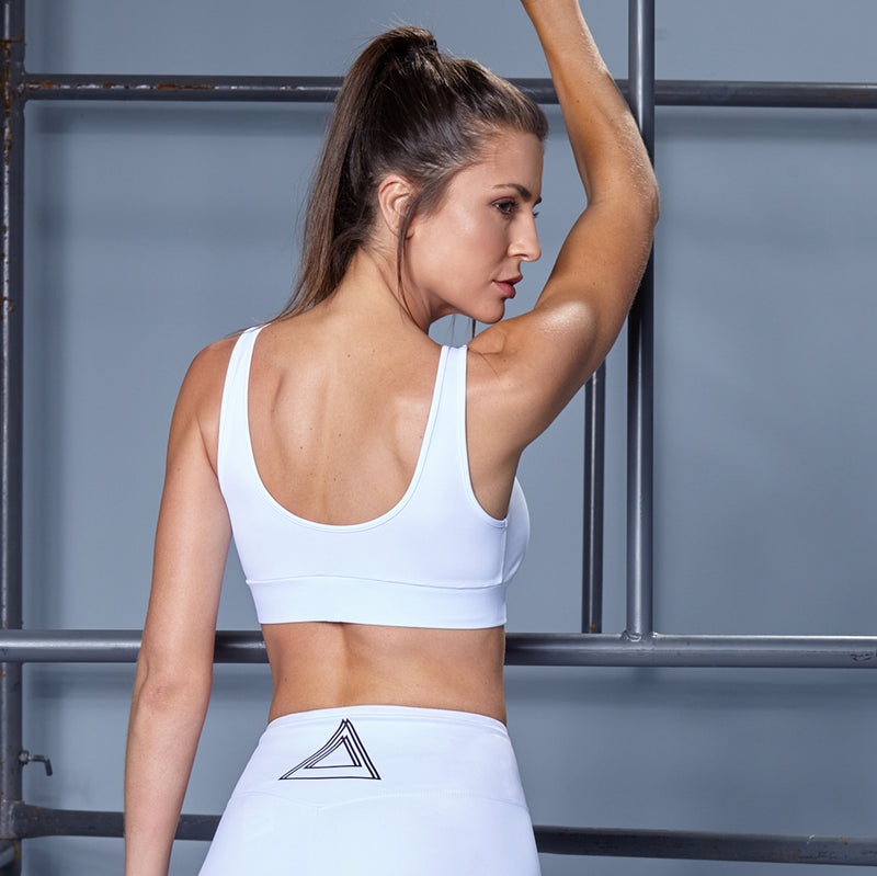 SPORTS WHITE FITNESS SET