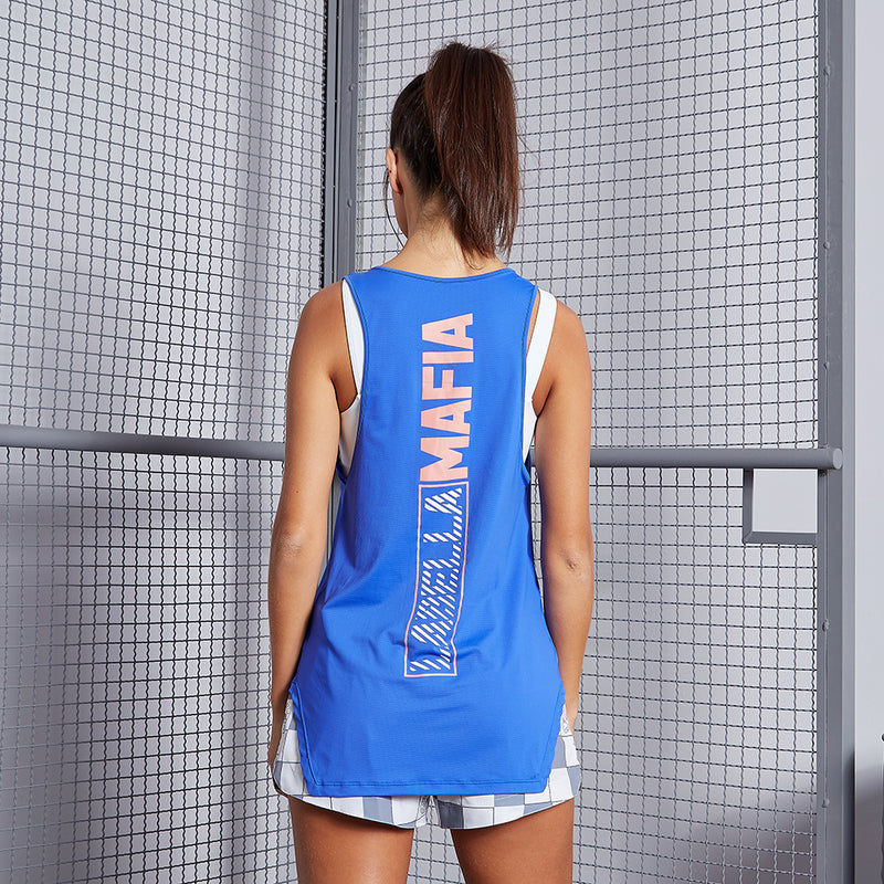 WORLDWIDE BLUE TANK TOP
