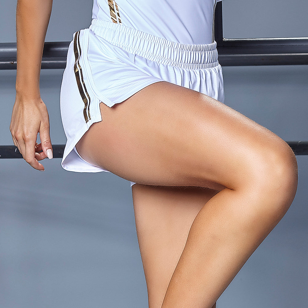 GOLDEN DETAILS SHORTS