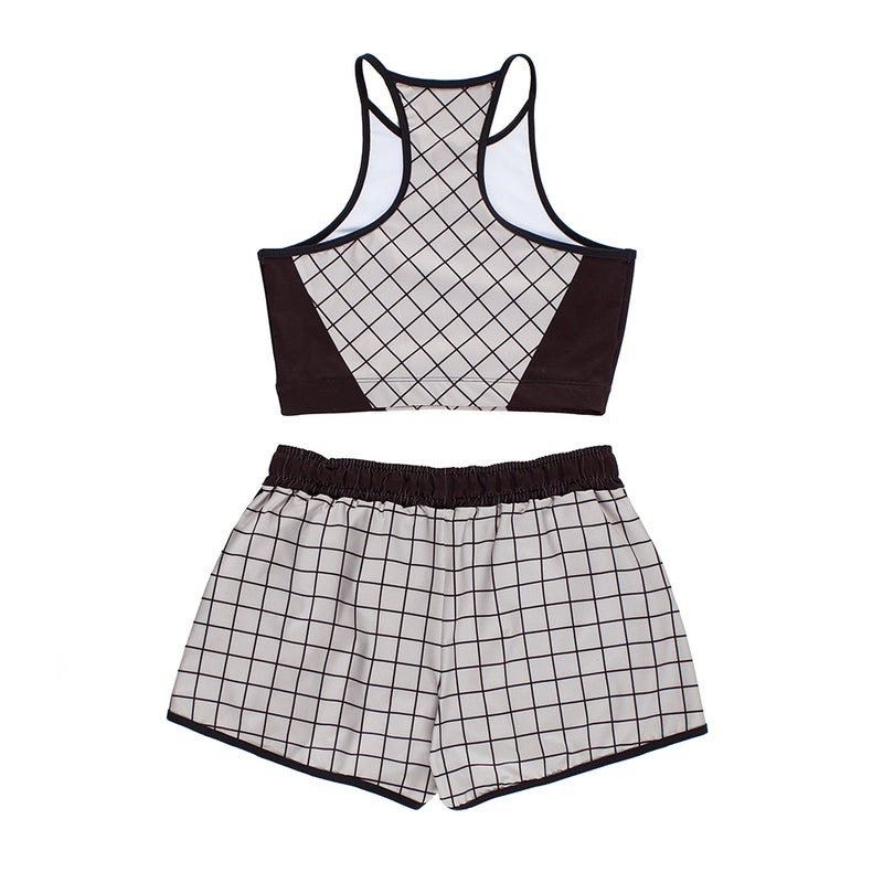 GRID GRAY FITNESS SET