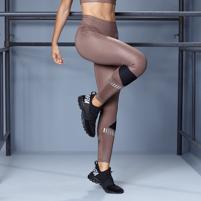 SHINY BROWN FITNESS SET