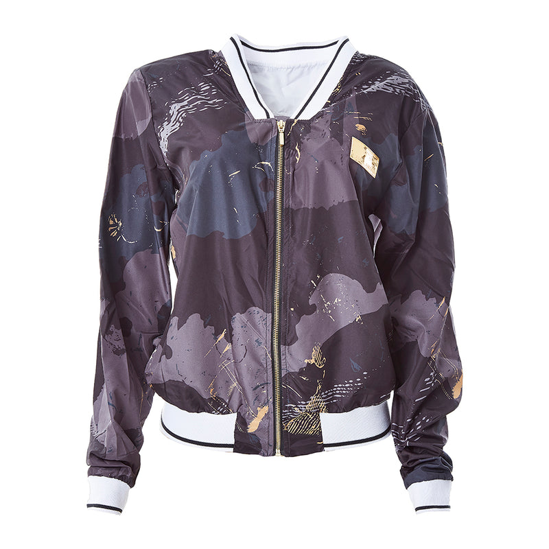 20485 GOLD CAMMO JACKET