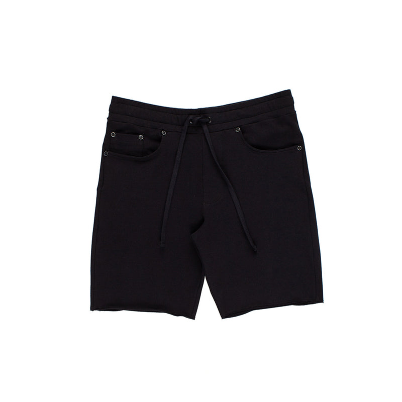 ESSENTIALS BLACK SHORTS