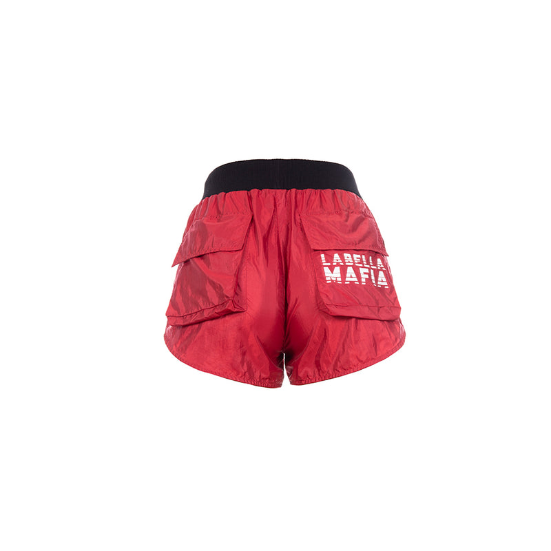 TEAM LBM RED SHORTS