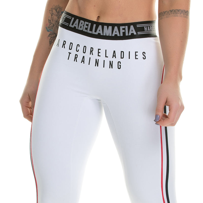 Legging Bodybuilding Training White