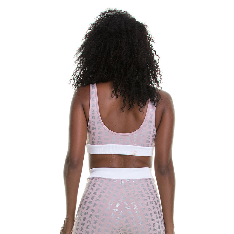 Sports Bra Rose Delicated Style