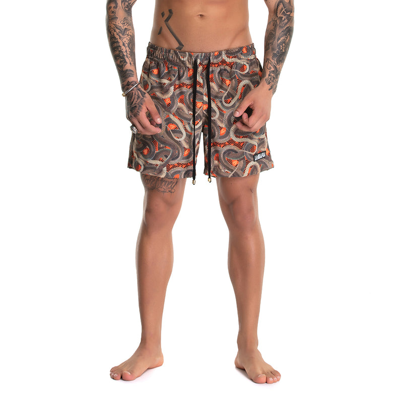 Shorts Beach Wear Snakes
