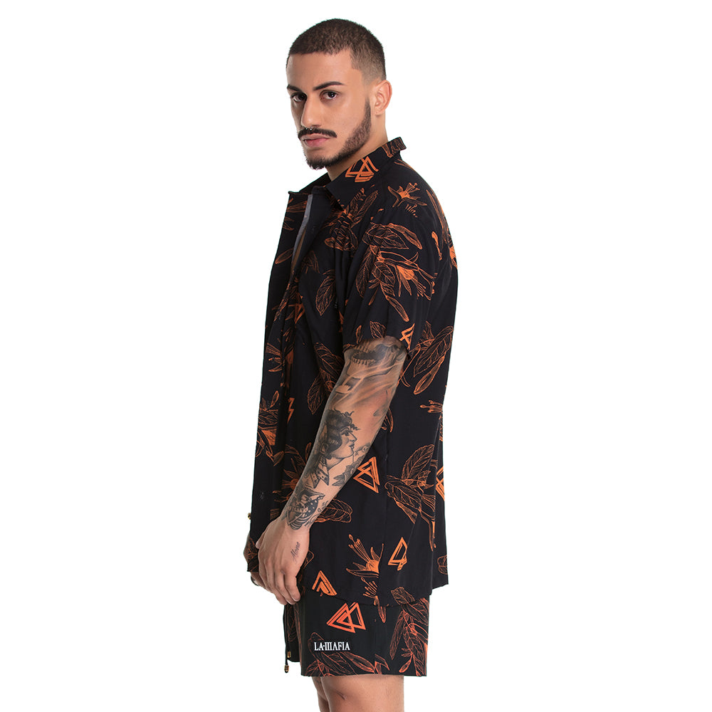 Shirt Resort Triangle Orange