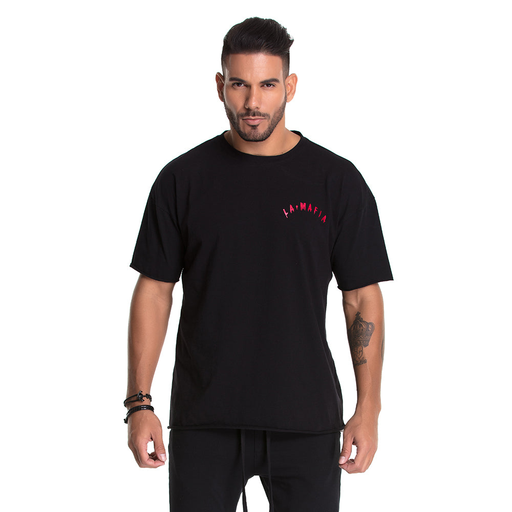 T-Shirt La Mafia Melting Black