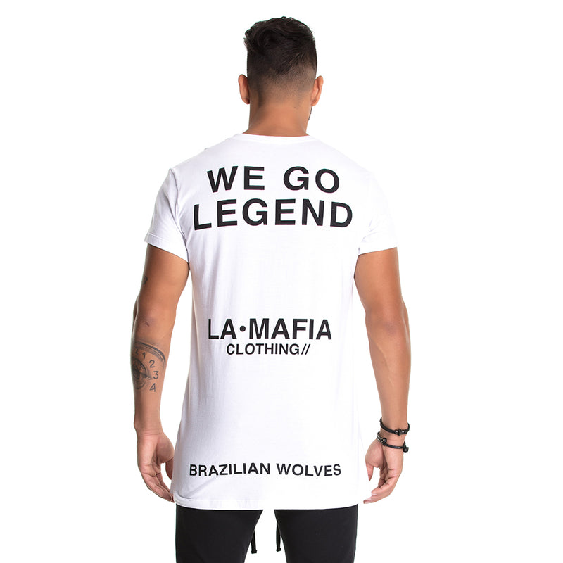 T-Shirt La Mafia Legend White
