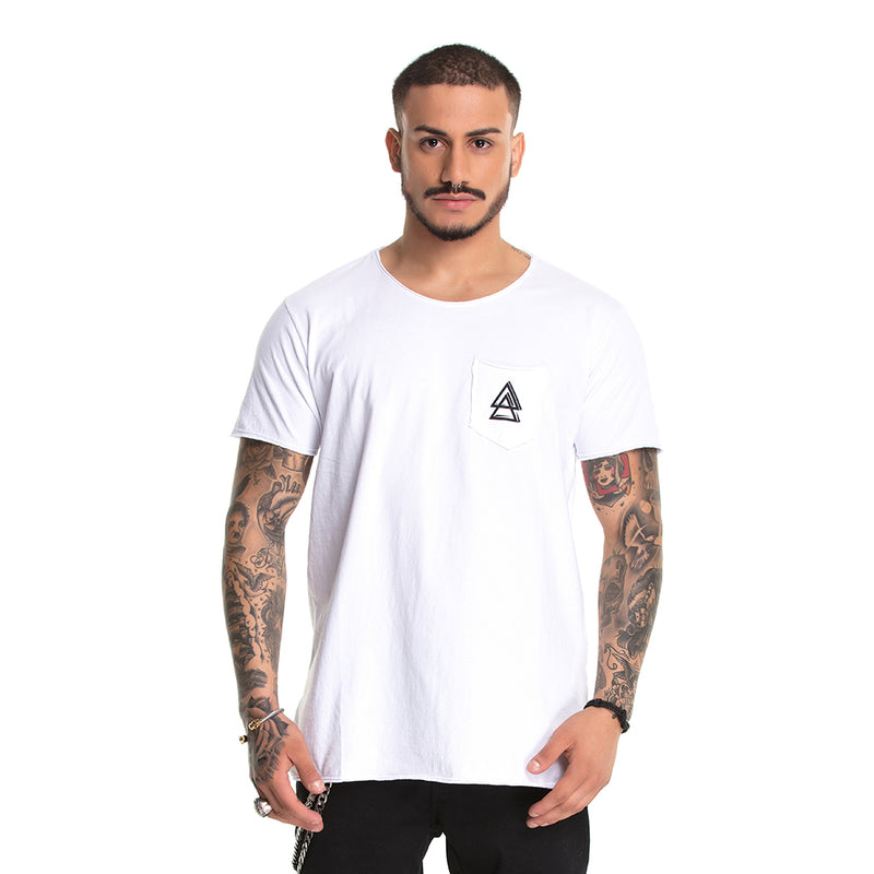 T-Shirt La Mafia Detail White
