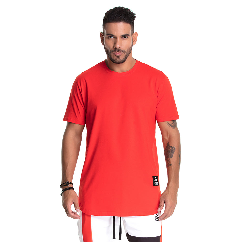 T-shirt La Mafia Stripes Red