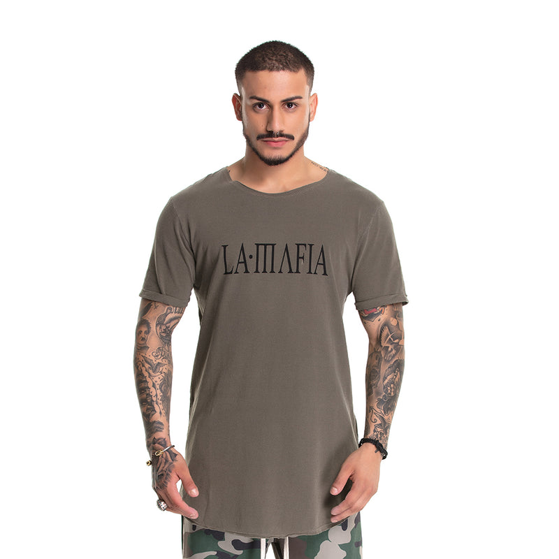 T-Shirt La Mafia Dragon Green