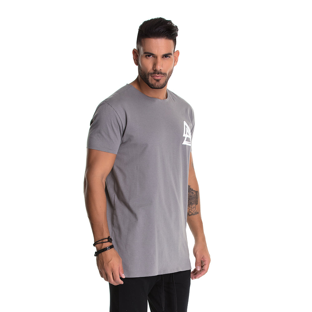 T-shirt La Mafia Begins Gray