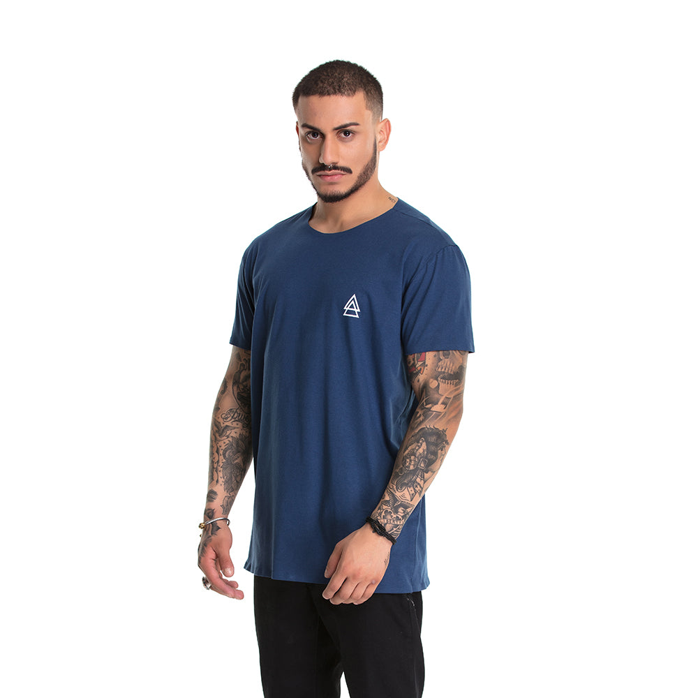 T-shirt La Mafia Detail Blue