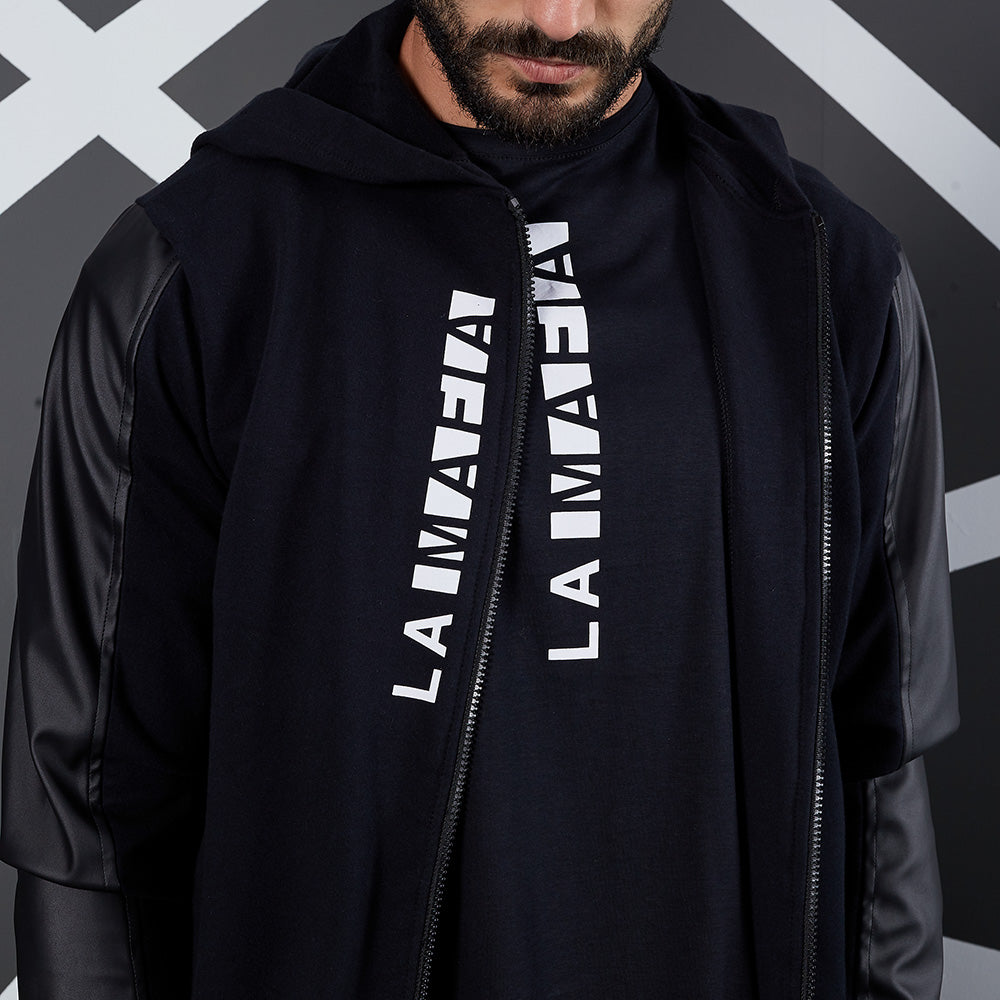 LA MAFIA JACKET SWEAT NOIR 20191