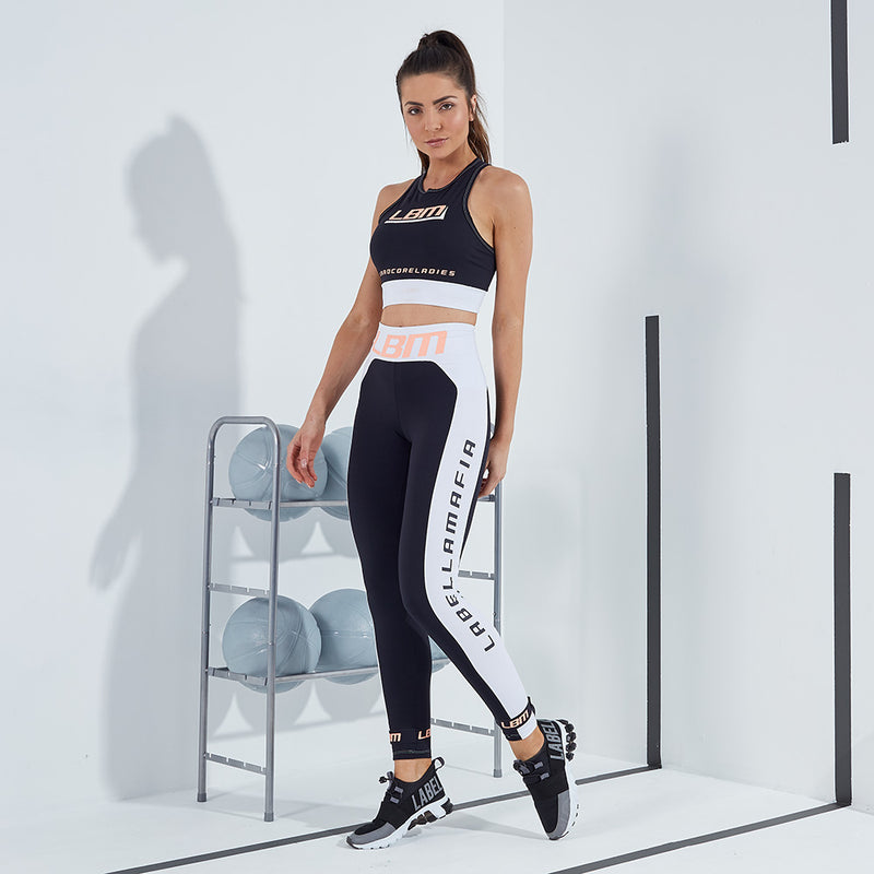 FITNESS SET BLACK N WHITE 20404