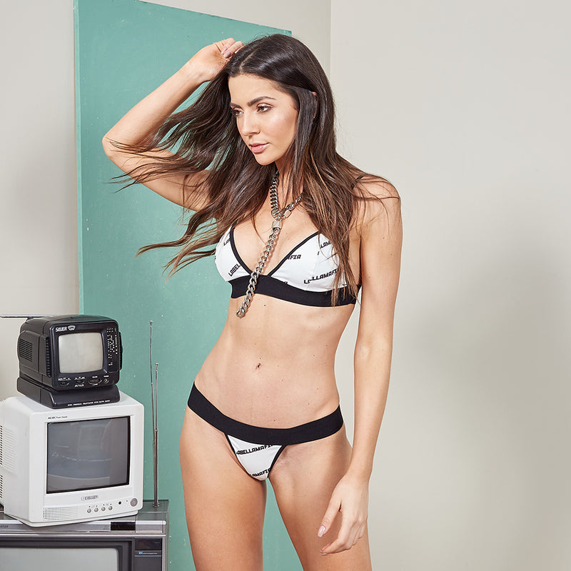 SET UNDERWEAR + BRA I AM LABELLAMAFIA 20594