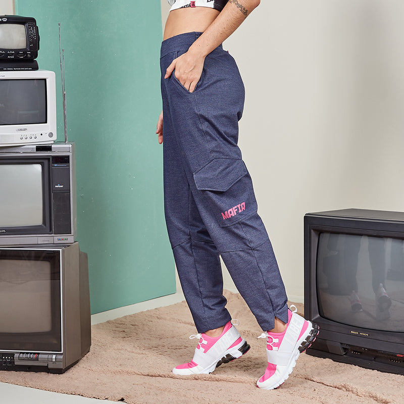 20606 I AM LABELLAMAFIA JOGGING PANTS