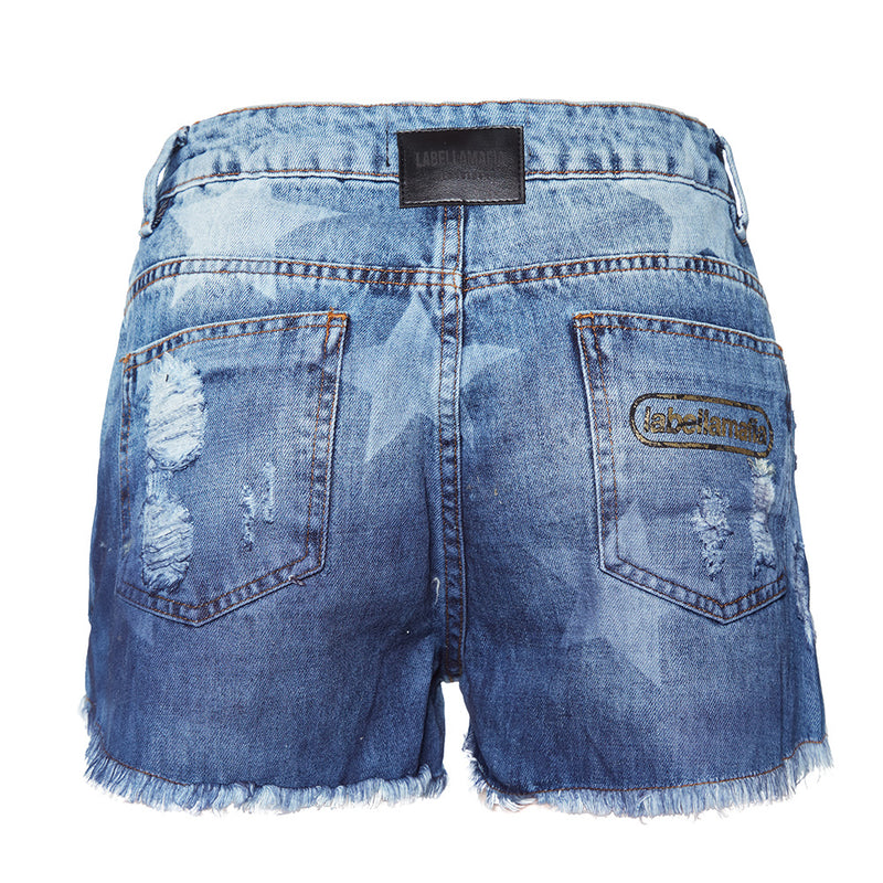 20668 SILK STAR SHORTS JEANS