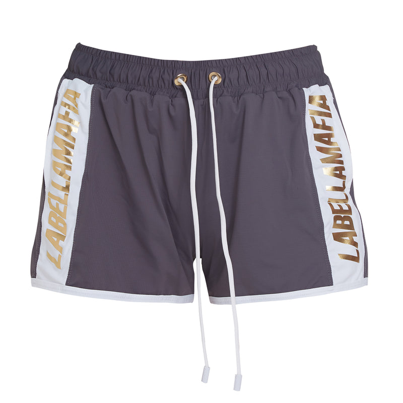 GREY N GOLD SHORTS 20752