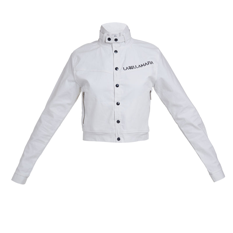 BLACK N WHITE JACKET 20789