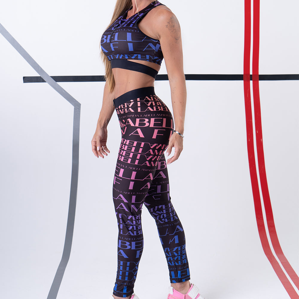 GOLD DETAILS FITNESS SET 21910