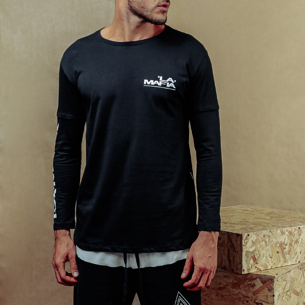 LA MAFIA LONG SLEEVE T-SHIRT 22398