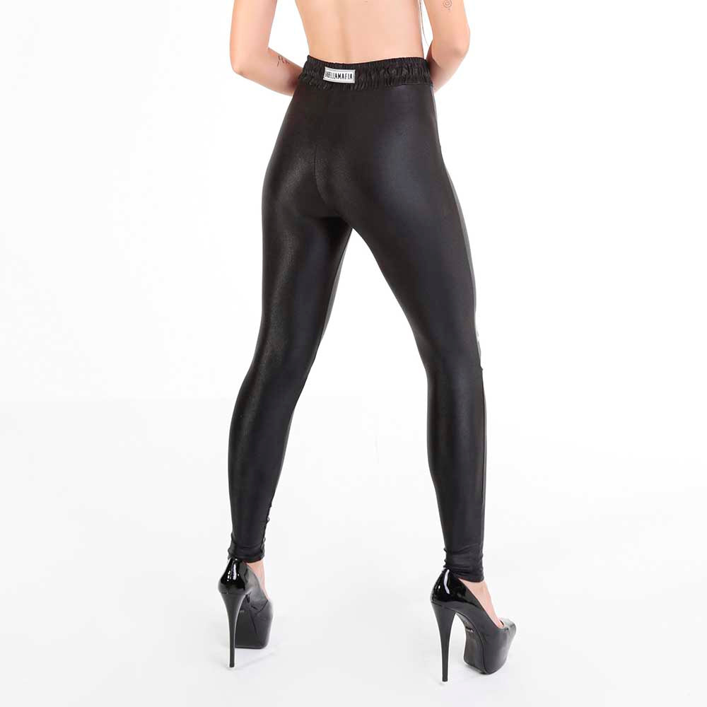 FLASHY BLACK LEGGING 22768