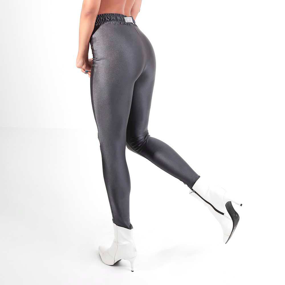 FLASHY GREY LEGGING 22769