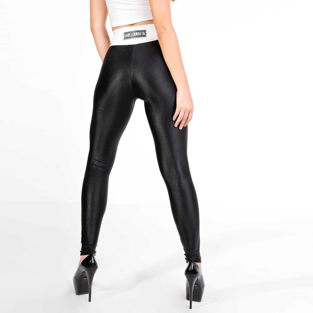 FLASHY B&W LEGGING 22790