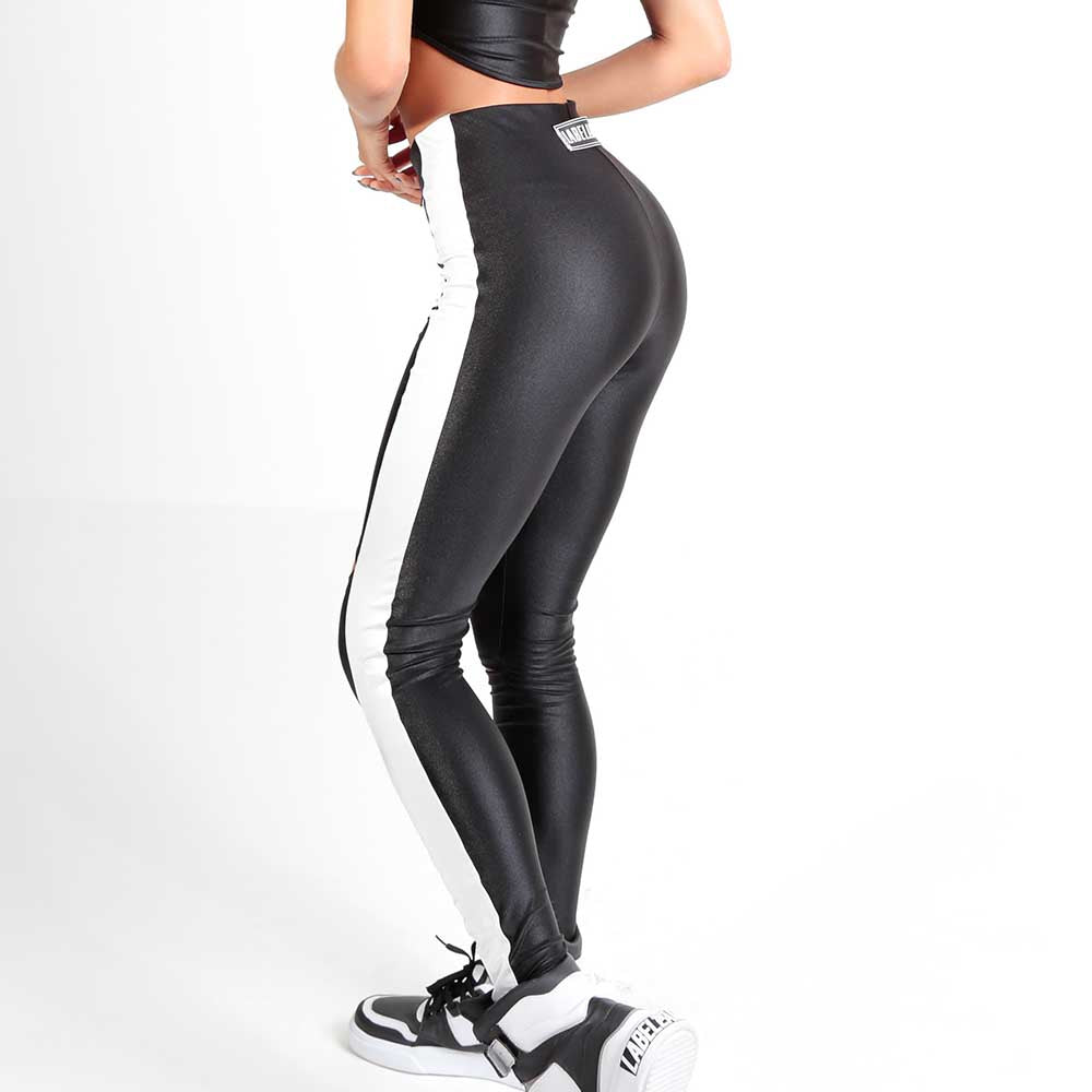 FLASHY BLACK LEGGING 22791