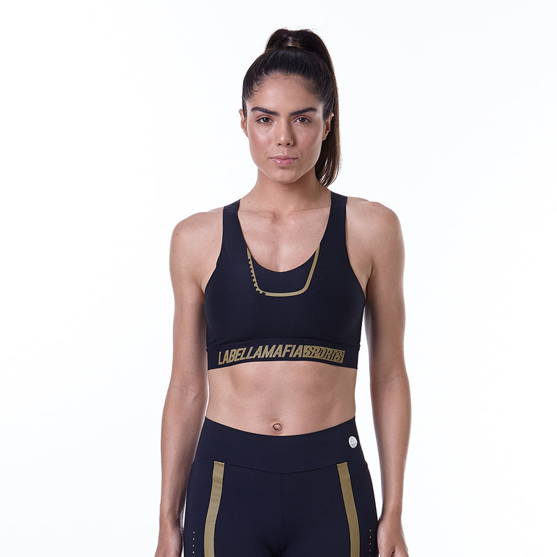 Sports Bra Sports Finelux Black