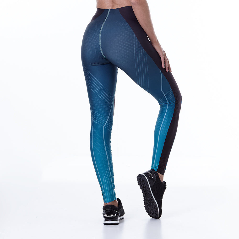 Legging Sports Green Light