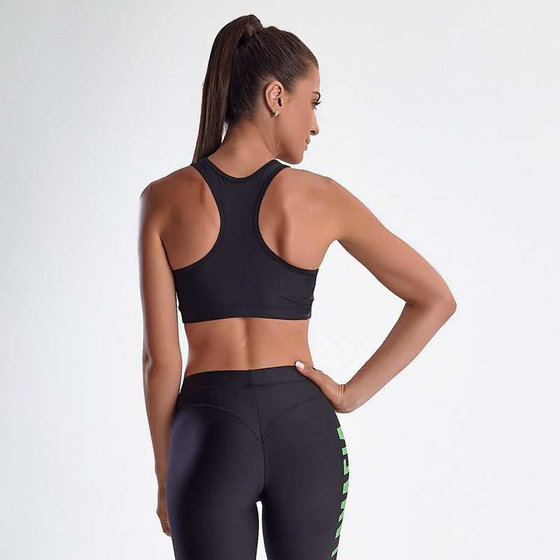 Sports Bra Hardcore Basic Black