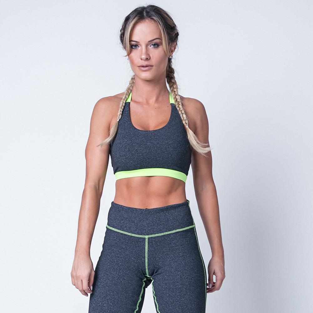Fitness Strappy Lime Top