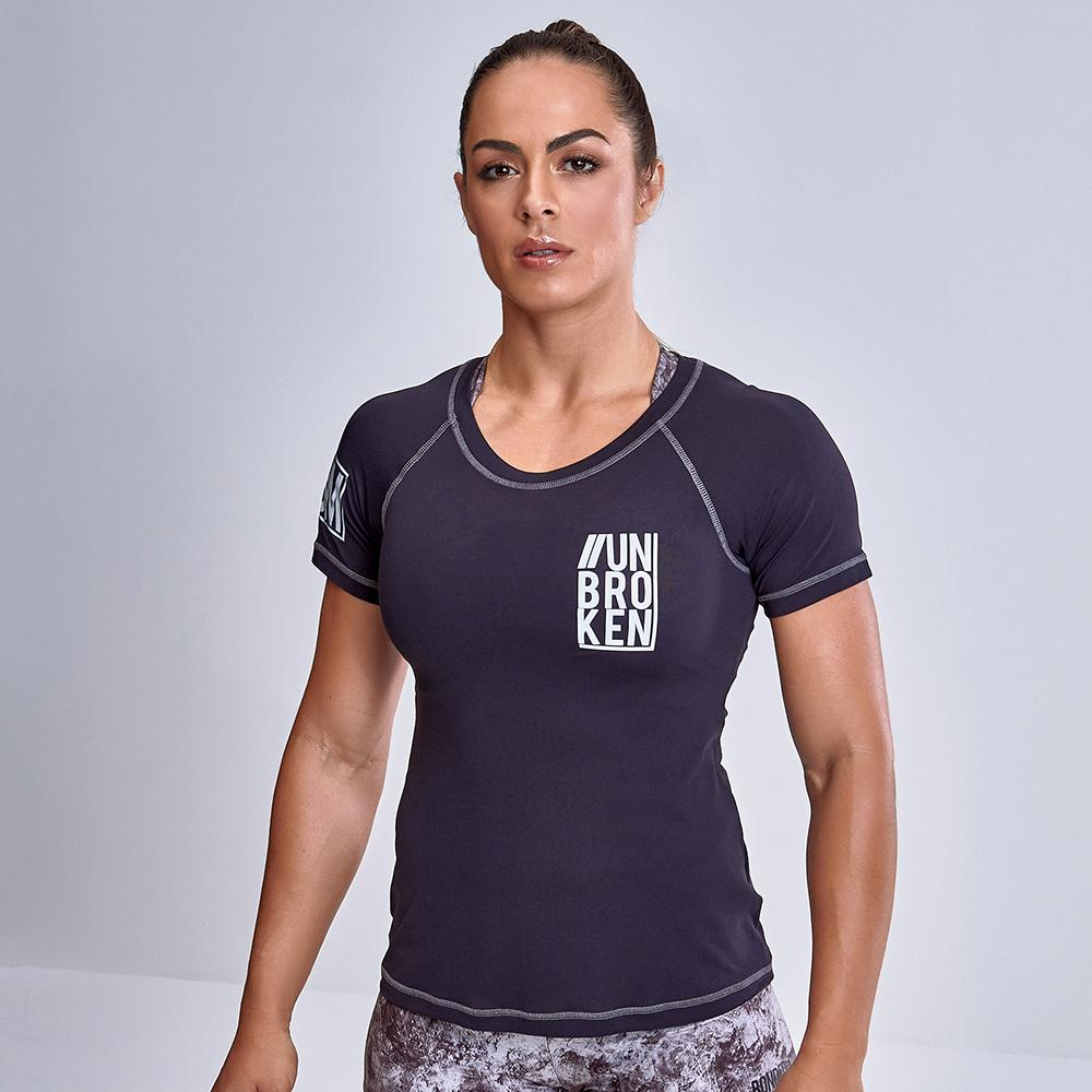Grey Stone Iron Cross Training Shirt